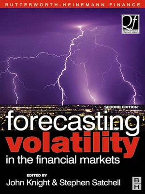 cover image of Forecasting Volatility in the Financial Markets