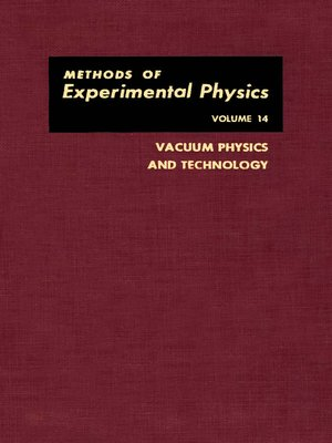 cover image of Vacuum Physics and Technology