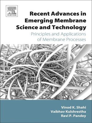cover image of Recent Advances in Emerging Membrane Science and Technology