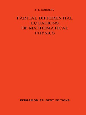 cover image of Partial Differential Equations of Mathematical Physics