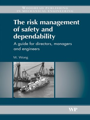 cover image of The Risk Management of Safety and Dependability