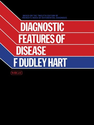 cover image of Diagnostic Features of Disease