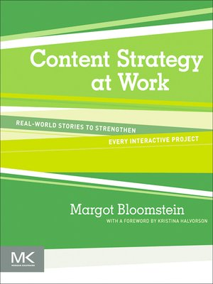 cover image of Content Strategy at Work