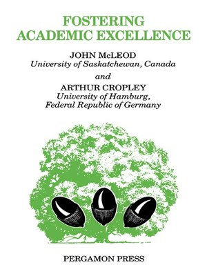 cover image of Fostering Academic Excellence