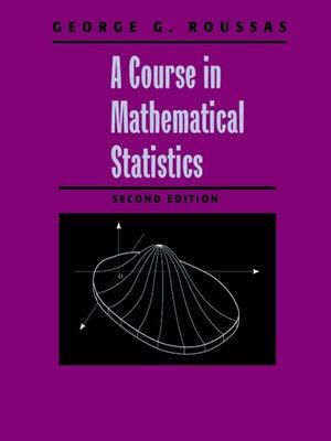 a brief course in mathematical statistics ebook