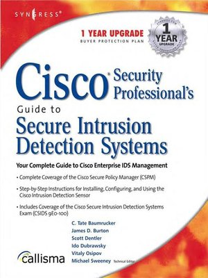cover image of Cisco Security Professional's Guide to Secure Intrusion Detection Systems