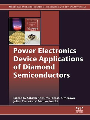 cover image of Power Electronics Device Applications of Diamond Semiconductors
