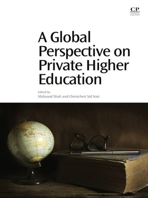 cover image of A Global Perspective on Private Higher Education