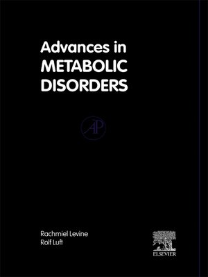 cover image of Advances in Metabolic Disorders