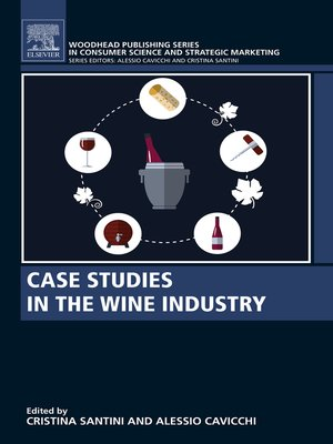 cover image of Case Studies in the Wine Industry