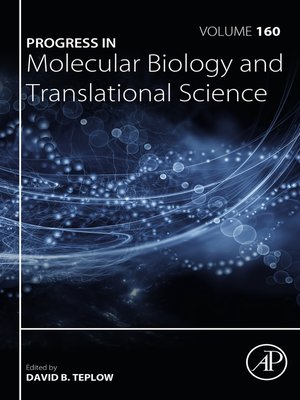 cover image of Progress in Molecular Biology and Translational Science, Volume 160