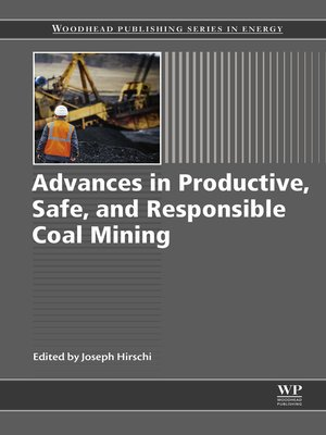 cover image of Advances in Productive, Safe, and Responsible Coal Mining