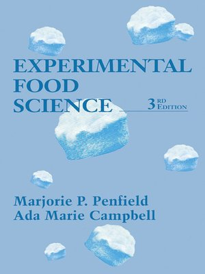cover image of Experimental Food Science
