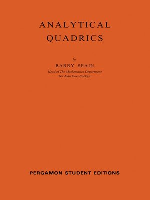 cover image of International Series in Pure and Applied Mathematics, Volume 14