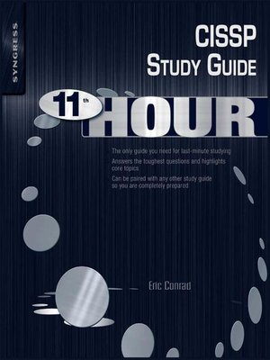 cover image of Eleventh Hour CISSP