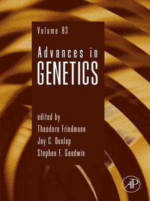cover image of Advances in Genetics