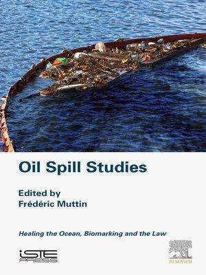 cover image of Oil Spill Studies