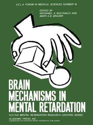 cover image of Brain Mechanisms in Mental Retardation