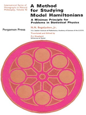 cover image of A Method for Studying Model Hamiltonians