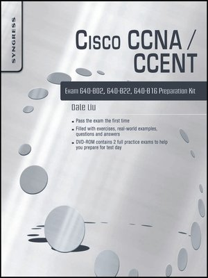 cover image of Cisco CCNA/CCENT Exam 640-802, 640-822, 640-816 Preparation Kit