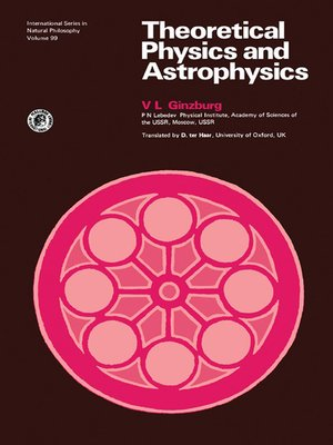 cover image of International Series in Natural Philosophy, Volume 99
