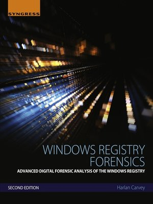 cover image of Windows Registry Forensics