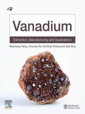 cover image of Vanadium