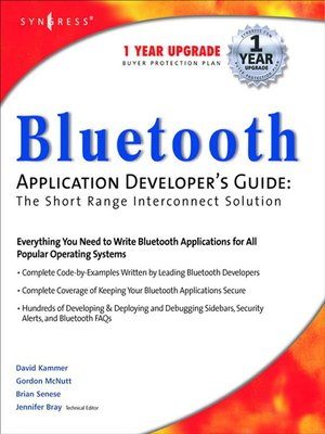 cover image of Bluetooth Application Developer's Guide