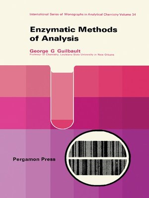 cover image of Enzymatic Methods of Analysis