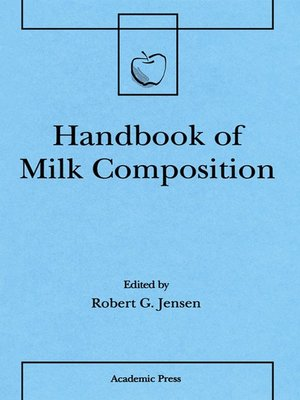 cover image of Handbook of Milk Composition
