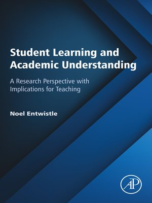cover image of Student Learning and Academic Understanding