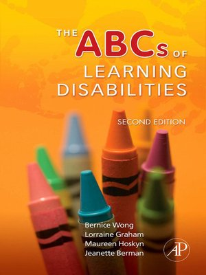 cover image of The ABCs of Learning Disabilities