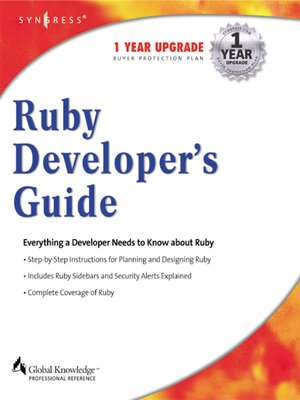 cover image of Ruby Developers Guide