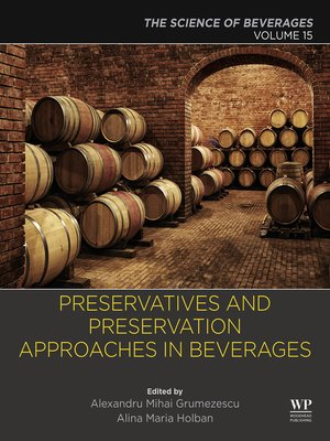 cover image of The Science of Beverages, Volume 15