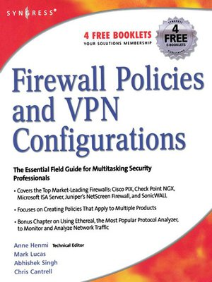 cover image of Firewall Policies and VPN Configurations