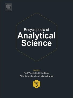 cover image of Encyclopedia of Analytical Science