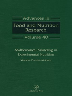 cover image of Mathematical Modeling in Experimental Nutrition