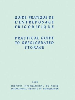 cover image of Guide Pratique de l'Entreposage Frigorifique