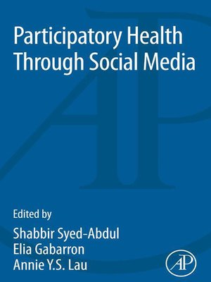 cover image of Participatory Health Through Social Media