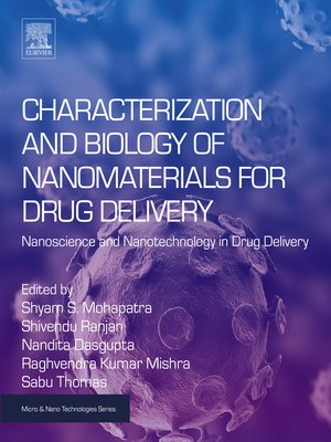 cover image of Characterization and Biology of Nanomaterials for Drug Delivery