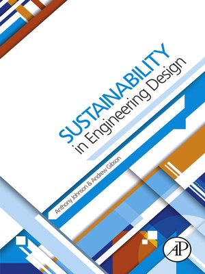 cover image of Sustainability in Engineering Design