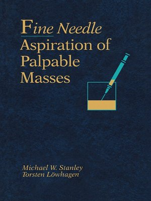 cover image of Fine Needle Aspiration of Palpable Masses