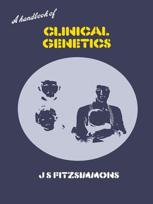 cover image of A Handbook of Clinical Genetics