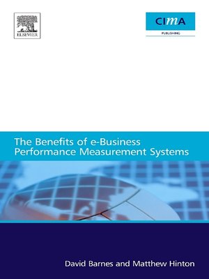 cover image of The benefits of e-business performance measurement systems