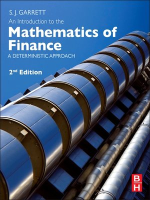 cover image of An Introduction to the Mathematics of Finance