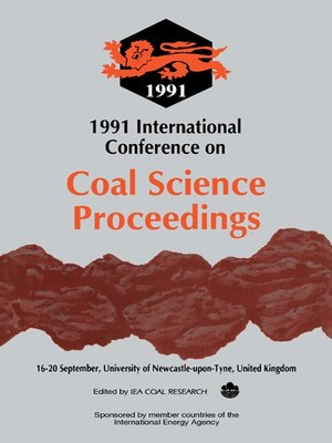 cover image of 1991 International Conference on Coal Science Proceedings