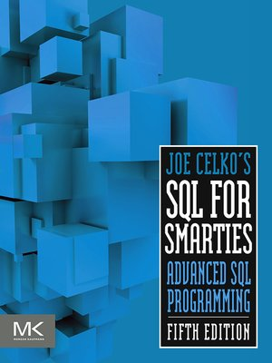 cover image of Joe Celko's SQL for Smarties