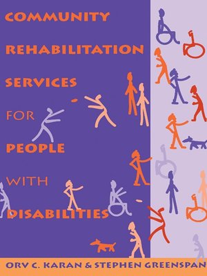 cover image of Community Rehabilitation Services for People with Disabilities