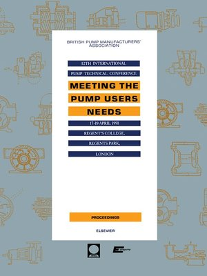 cover image of Meeting the Pump Users Needs