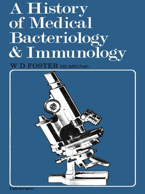 cover image of A History of Medical Bacteriology and Immunology